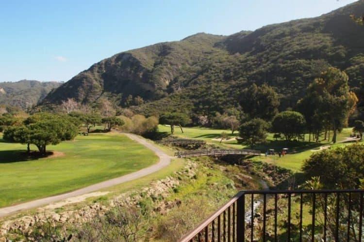 Ben Brown golf course at the Ranch at Laguna Beach.