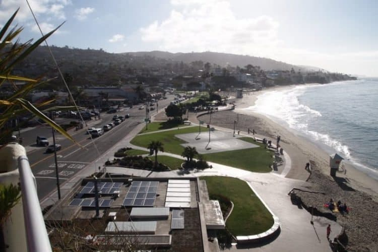 Laguna Beach California: An artist colony and the perfect California beach town.
