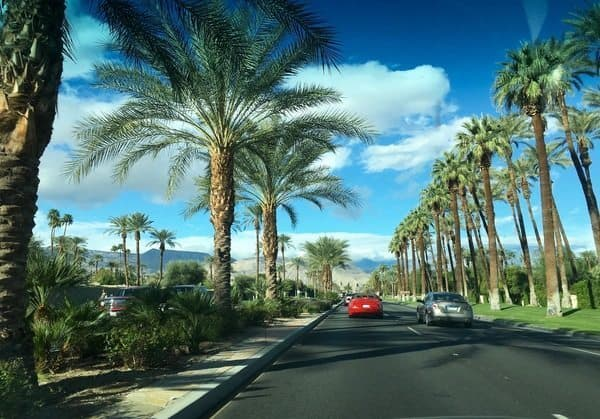 Indian Wells California, famous for tennis.