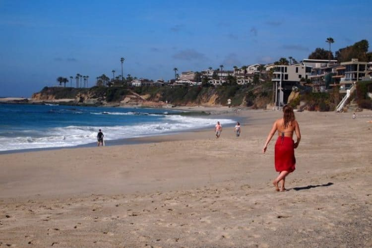 Aliso Beach Park, in Laguna Beach, one of 22 beaches in the city.