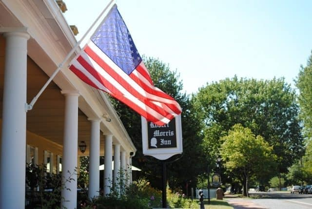 Robert Morris Inn: Hundreds of years of history.
