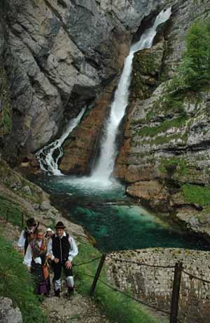 Slavica Waterfall.