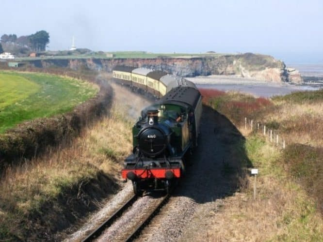 West Somerset railway in England.