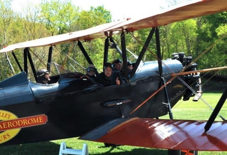 One of the biplanes at the Aerodrome at Rhinebeck, NY.