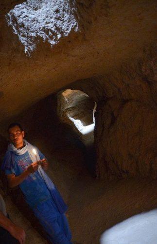 Berber well tunnels.