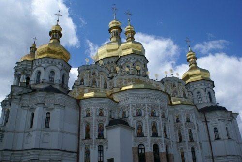 Assumption Cathedral in Kiev, Ukraine.