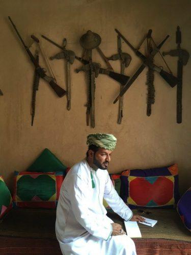 Nakhla Fort I in Muscat Oman.