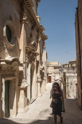 Ragusa, an abandoned city in Sicily. John Henderson photo.