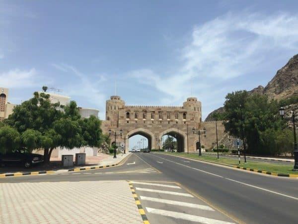 The Muttrah Gate.