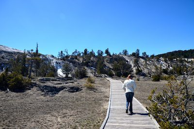 Miles of hiking trails are throughout the state of Wyoming.