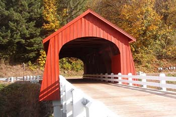 Oregon: Covered Bridges Everywhere
