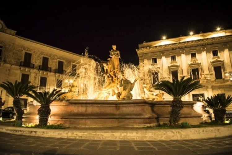 Fontana Aretusa. Marina Pascucci photo.