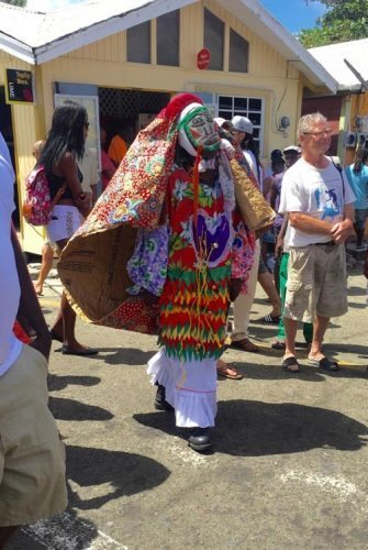 The Shakespeare Mas in Carriacou.