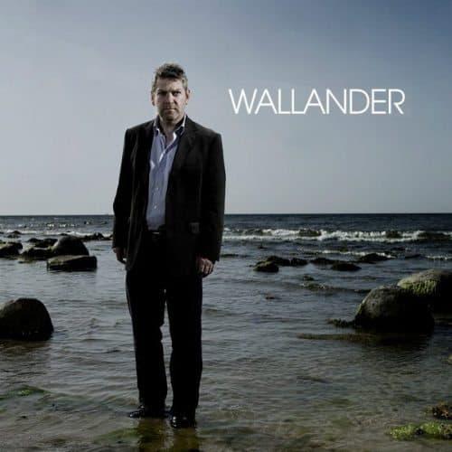 Kenneth Branaugh as Wallander, set in Skane, Sweden.