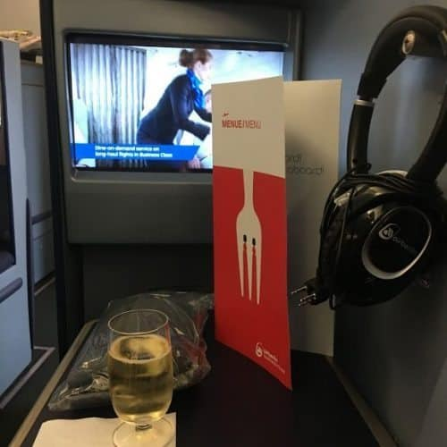 Flying business class with airberlin is equivalent to flying first class with other airlines and offers spacious seats that recline to a full flat position, high tech entertainment systems and stellar service throughout the flight.