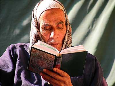 A devout Muslim
