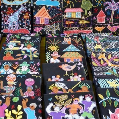 Narrative story textiles South Africa.