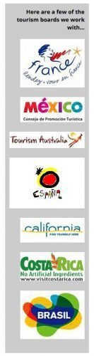 Some of the tourism board we've worked with since we began publishing in 2000.