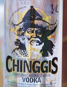 Chinngis vodka, Mongolia's favorite