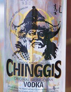 Chinngis vodka, Mongolia's favorite