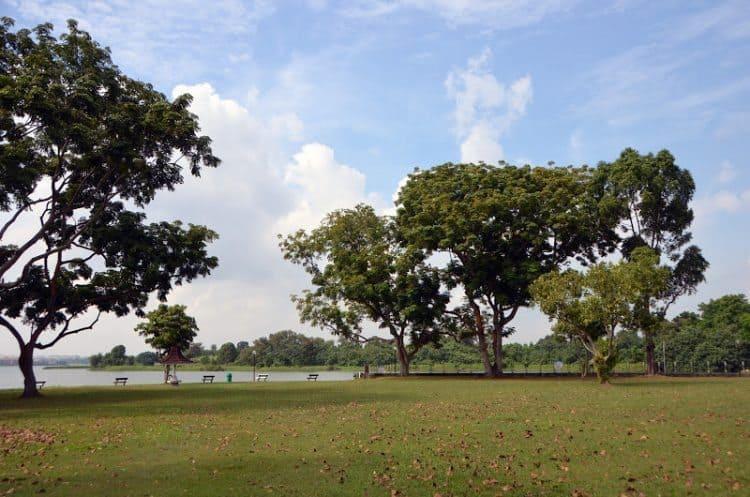 Kranji Park in Singapore.
