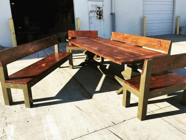 A big farm table like this would be a very costly item to ship, Roadie just might have a guy with a truck who will do it for less.