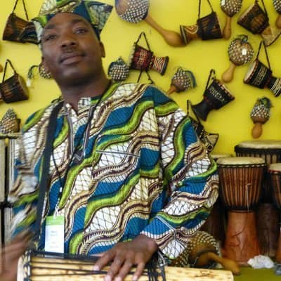 Talking drums from Nigeria.