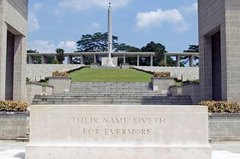 War and Peace in Kranji, Singapore