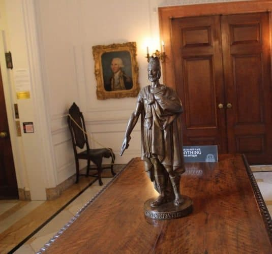 Statue of Cincinnatus at the Anderson House in Washington DC.