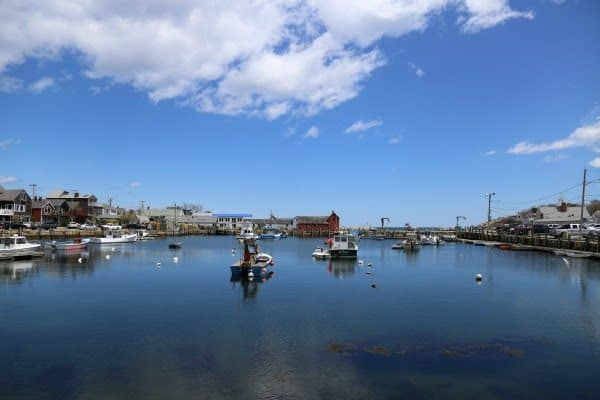 Rockport, Massachusetts harbor.