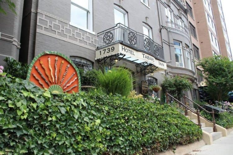 The Tabard Inn is a great choice in DC, conveniently located on Dupont Circle. Kurt Jacobson photos.