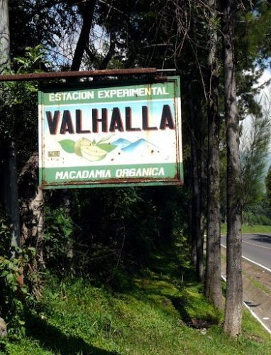 Valhalla Experimental Station Guatemala, where the story is set.