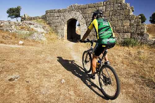 The ride to Castelo Mendo