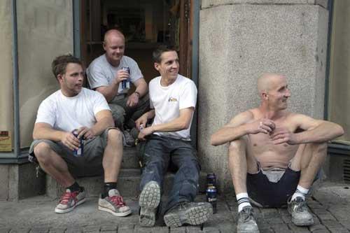 beer-drinkers