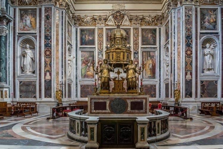 Basilica of Santa Maria Maggiore in Rome 1
