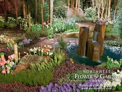 A garden from the North West Flower and Garden Show in Seattle
