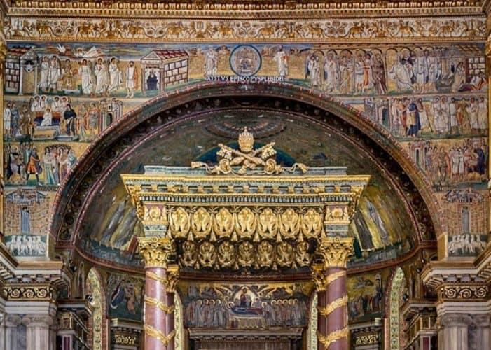 Basilica of Santa Maria Maggiore in Rome 2