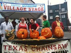 A pumpkin carving contest at the Fremont Oktoberfest
