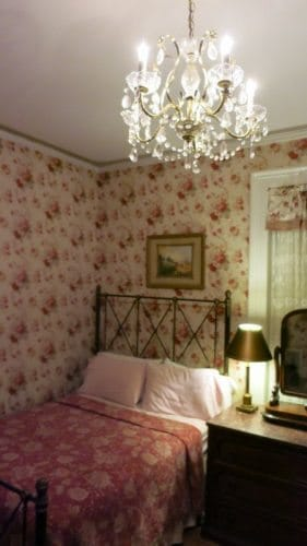 A bedroom at the Inn in Providence, RI.