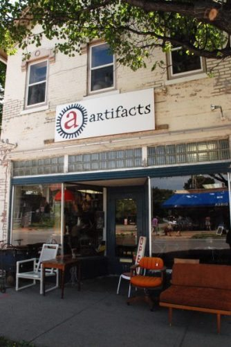 Artifacts is a fun place to shop for unusual things in Iowa City.
