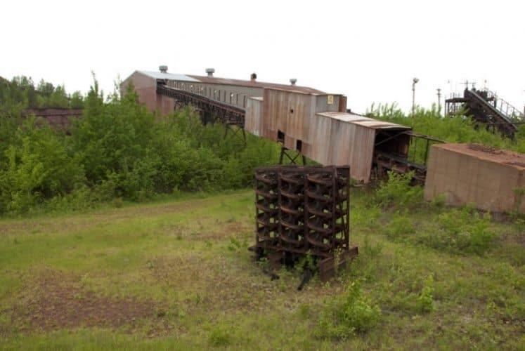 Calumet MN Hill Annex Mine.