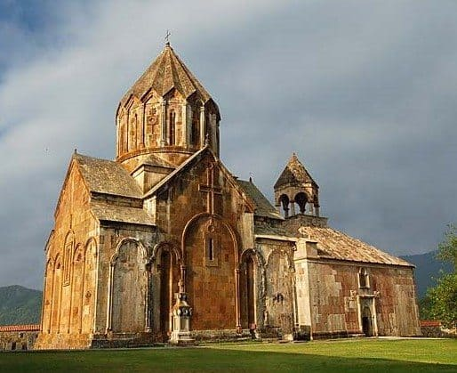 The monastery at Gandzasar was commissioned by the House of Khachen and completed in 1238