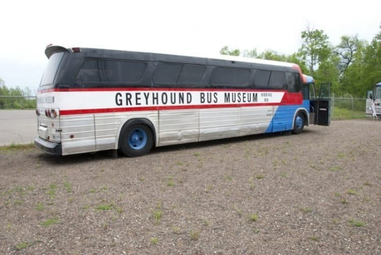 Hibbing MN Greyhound Bus Museum