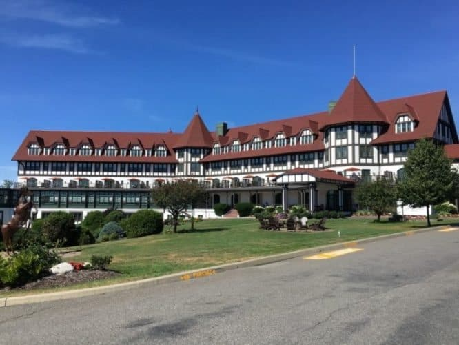 At the top of a hill in St Andrews, you can't miss the distinctive Algonquin Resort, opened in 1889 and renovated top to bottom in 2014. Max Hartshorne photos.