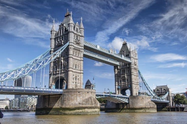 London's Tower Bridge,