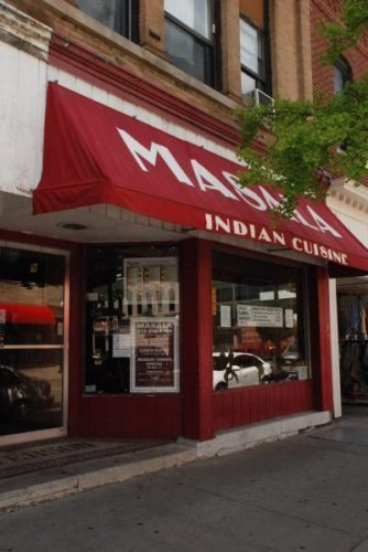 Masala is a local favorite for Indian cuisine in Iowa City.