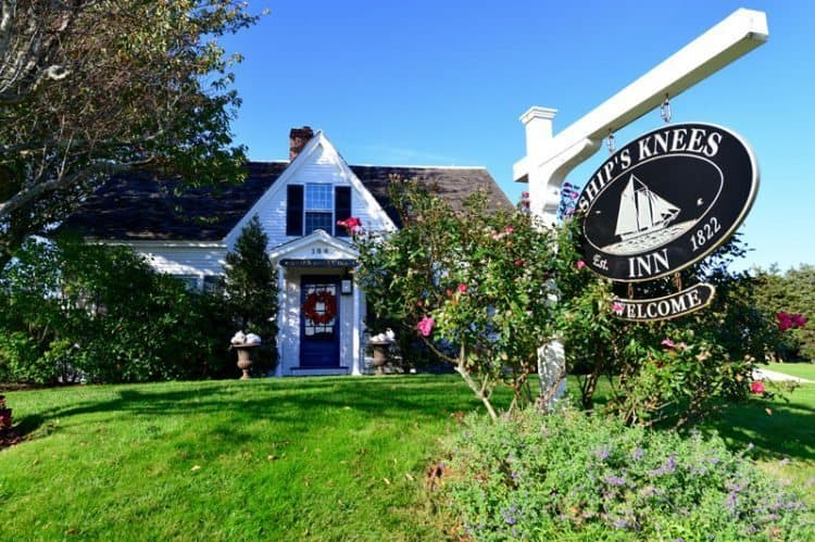 Stay in the Nauset Suite for the best in amenities and creature comforts, The Ship's Knees Inn in Orleans.