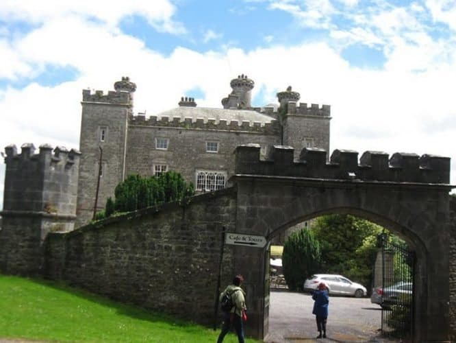 Slane Castle is known for its outdoor rock concerts by bands like the Stones, U2 and Madonna.
