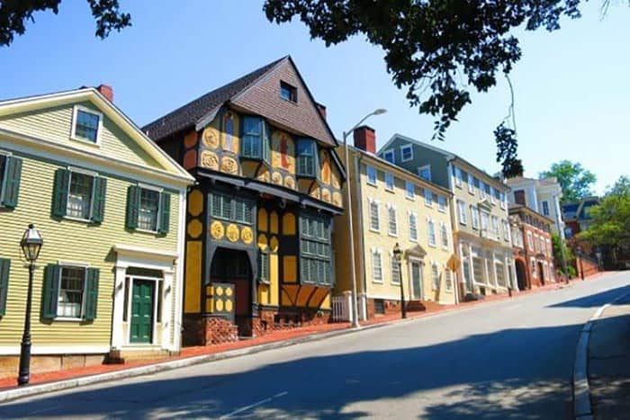 Providence: Benefit Street: An Amazing Architectural Showcase