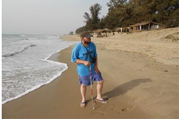 Traveling Blind: Tony Giles Visits West Africa